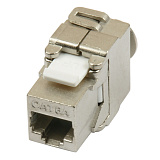 KJ-RJ45-Cat.6A-SH-180-Tooless Вставка Keystone Jack RJ-45(8P8C)